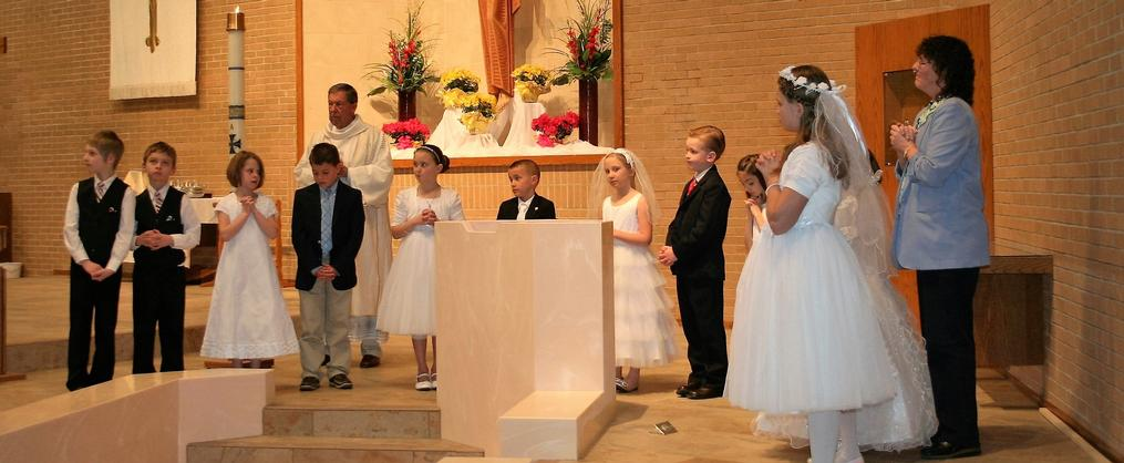 Renewing our Baptismal vows